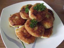 Kotleciki ryżowe z serem żółtym