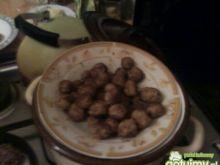 Kotleciki  w sosie z pieczarkami