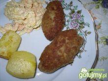 Kotleciki z gotowanego koguta