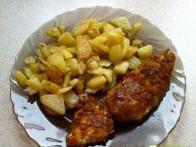 Kotleciki z kurczaka w kukurydzy