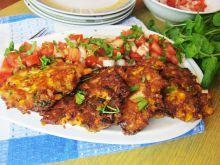 Kotleciki z kurczaka z kukurydzą i serem