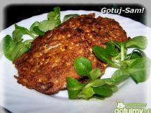 Kotleciki z mięsa gotowanego.