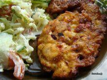 Kotleciki z papryka i pomidorami