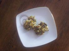 Kotleciki z pieczarek i jajek