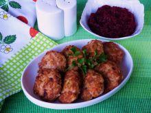 Kotleciki z ryżem i pieczarkami