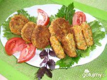 Kotleciki z ryżu i marchewki