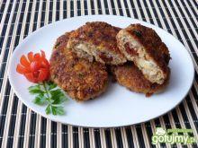 Kotleciki z suszonymi pomidorami i serem