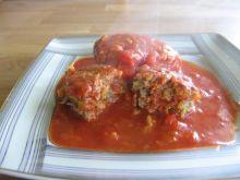 Kotlety a'la gołąbki w pomidorach