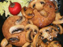 Kotlety mielone pieczarkowe :