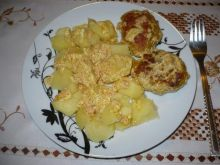 Kotlety mielone w sosie curry