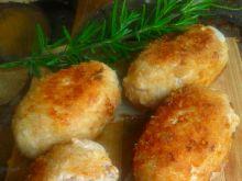 Kotlety mielone z gorgonzolą i gruszką