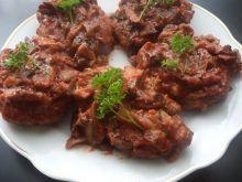 Kotlety mielone z grzybowym sosem