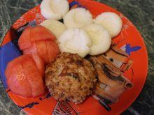 Kotlety mięsno ryżowe