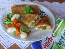Kotlety rybne z warzywnym farszem