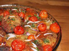 kotlety rybne zapiekane w pomidorach
