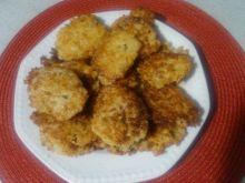 Kotlety ryżowo - serowe