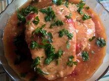 Kotlety wieprzowe w pomidorach