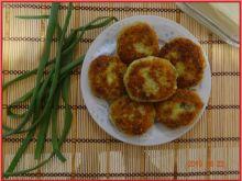 Kotlety z brokułów i ziemniaków