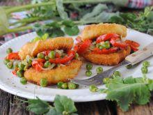 Kotlety z kalarepki z warzywami