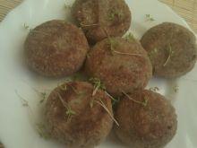 Kotlety z kaszy gryczanej i ziemniaków
