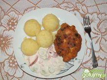 Kotlety z kurczaka i cebuli