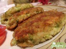 kotlety z makaronu i brokuła