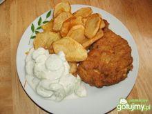 Kotlety z piersi z ziemniakami