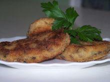 Kotlety ziemniaczane z mięsem i grzybami