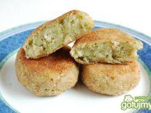 Kotlety ziemniaczano-brokułowe