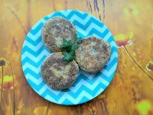 Kotlety ziemniaczano - pietruszkowe z chia