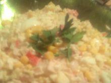 Krabowa sałatka z majonezem