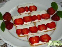 Krakersy biało-czerwone
