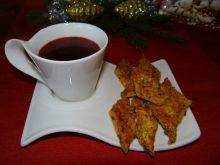Krakersy z cebuli do czerwonego barszczyku