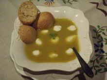 Krem brokułowo - dyniowy