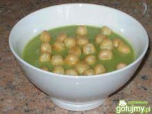Krem brokułowy z groszkiem otysiowym