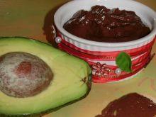 Krem czekoladowy z avocado i chili