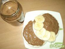 Krem fistaszkowo-czekoladowy na waflu