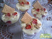 Krem jogurtowy z owocami