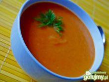 Krem marchewkowo-warzywny z serkiem