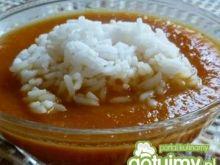 Krem marchewkowy z ryżem