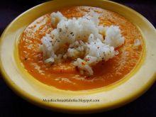 Krem marchewkowy z ryżem jaśminowym