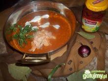 Krem pomidorowy z pieczonych warzyw