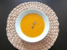 Zupa z dyni z mlekiem kokosowym