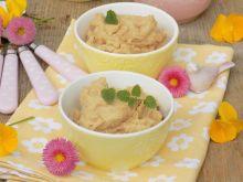 Krem z kaszy jaglanej i masła orzechowego