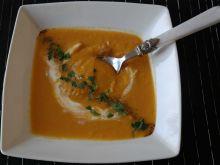 Zupa krem z marchewki i soczewicy