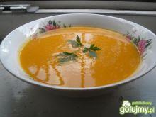 Krem z marchewki pomarańczowo-imbirowy