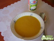 Krem z marchwi pomarańczy i imbiru