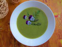 Krem z zielonych szparagów