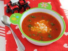 Krem ze świeżych pomidorów dla maluchów