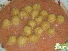 Krem ze świeżych pomidorów z bazylią